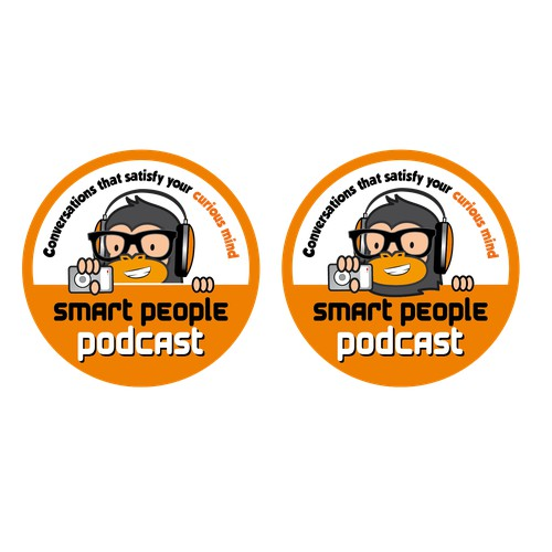 Create a sticker for Smart People Podcast