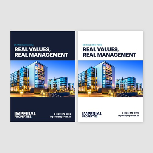Imperial Properties Booklet Design