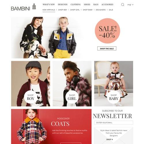 Bambini Hopepage