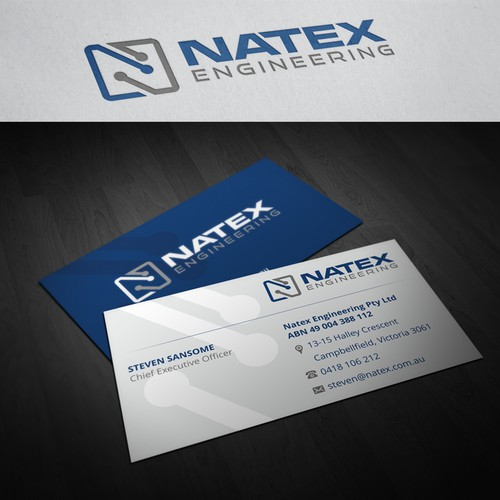 Help Natex with a new or polished logo and business cards (examples attached)
