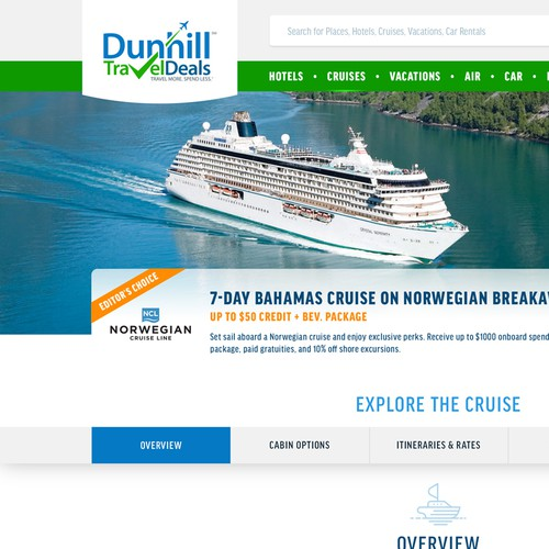 Exciting professional design for travel company