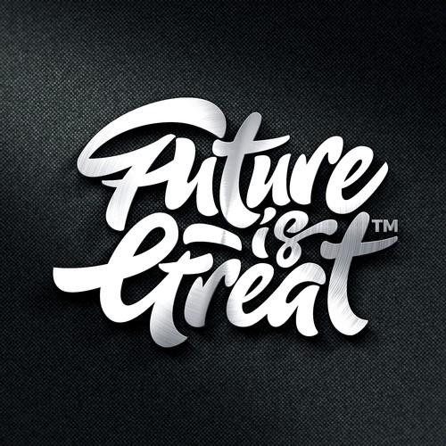 Logokonzept Future is Great