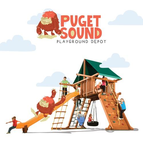 Puget Sound - Playground Depot