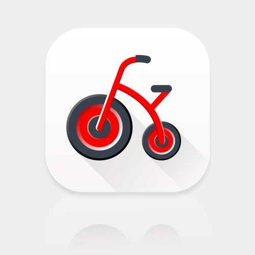 App Icon für Kindergartenfahrzeuge