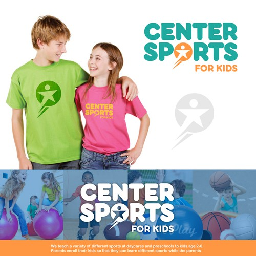 Logo design for Center Sports