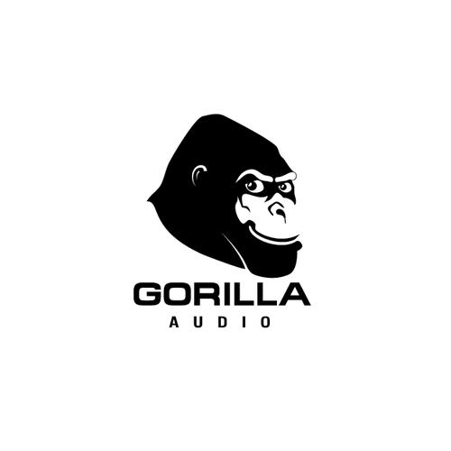 Create the next logo for Gorilla Audio