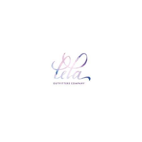 Logo concept for feminine, simple elegant fashion store logo