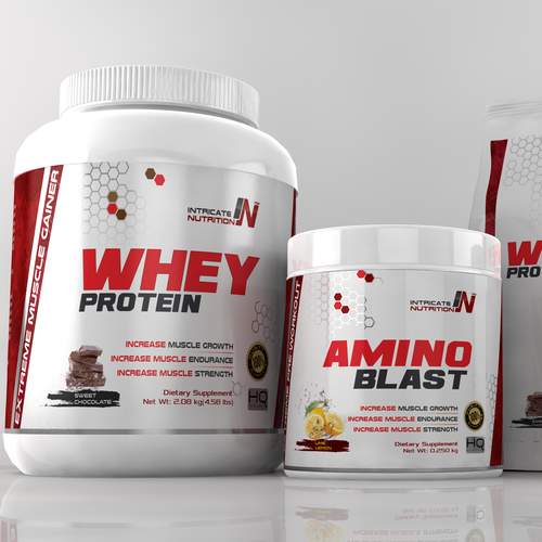 Logo and Label design for Intricate Nutrition