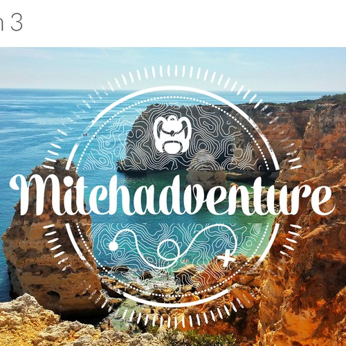 Logo for adventure blogger
