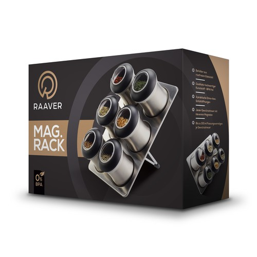 RAAVER Magnetic Rack Box Design