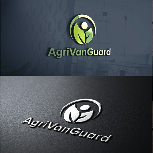 AgriVanGuard logo design