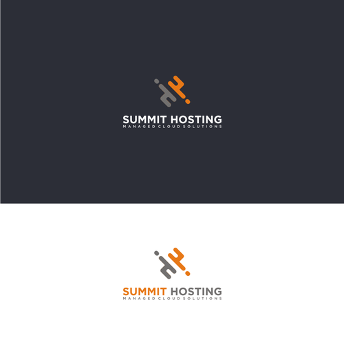 Bold logo concept For Summit Hosting