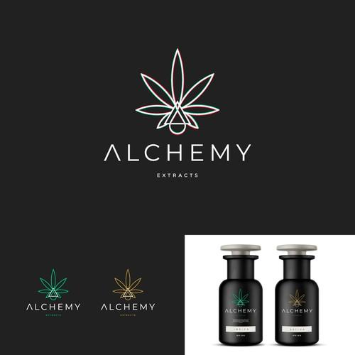 Alchemy logo design