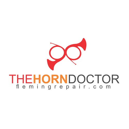 "Create the next logo for The Horn Doctor  - if possible please include the phrase ""The Horn Doctor"" most prominantly along with"