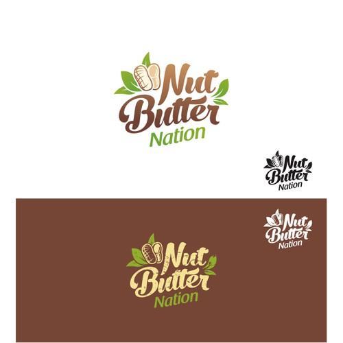 Logo for New Gourmet Nut Butter Brand
