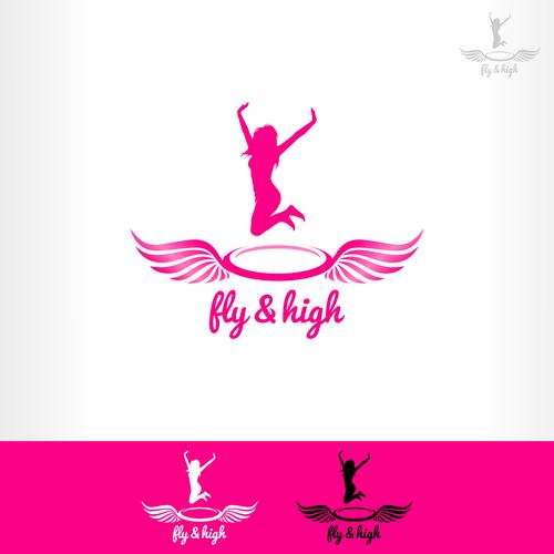logo for fly & high