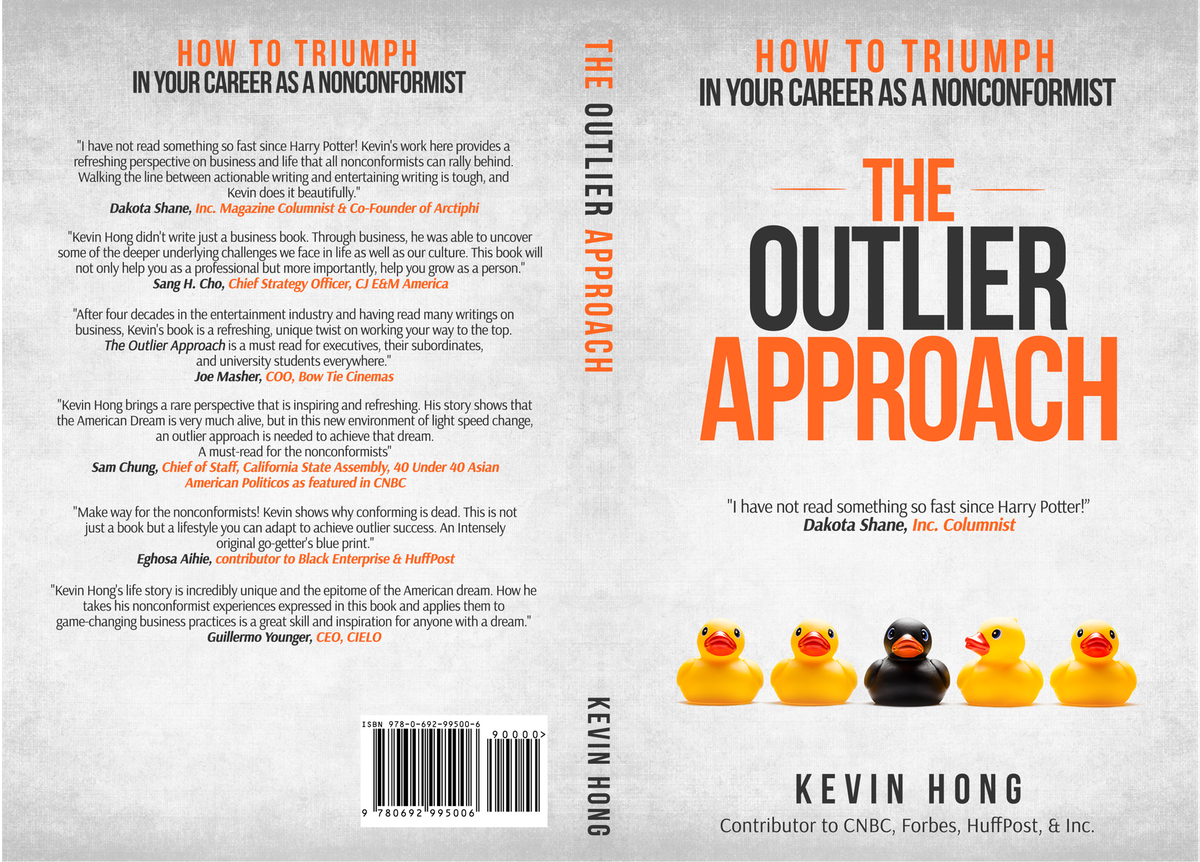 Book Cover + Speaking Engagement