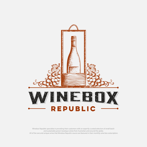 logo for new wine bussines company