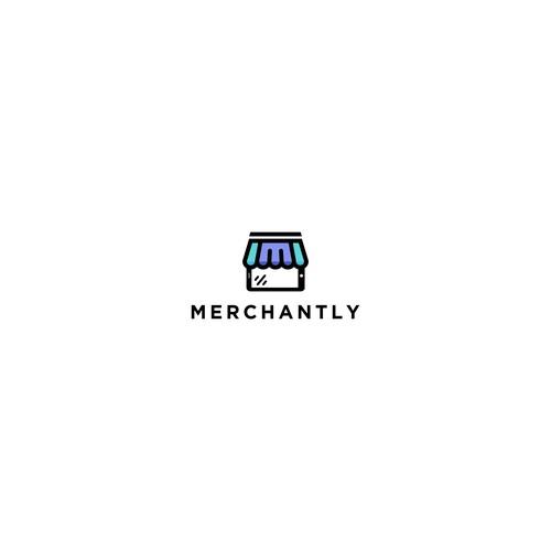 Concept logo of Merchantly