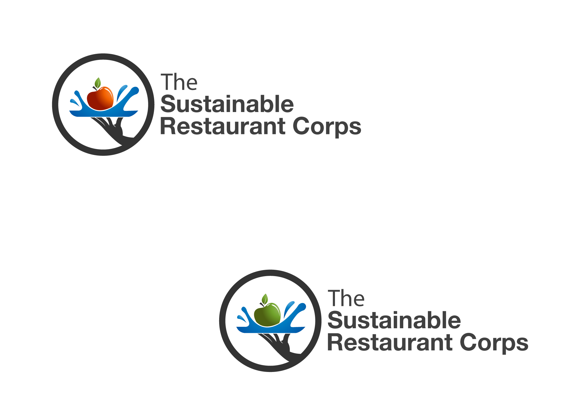 The Sustainable Restaurant Corps needs a new logo
