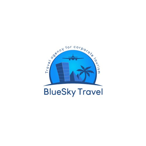 Logo for travel agencies