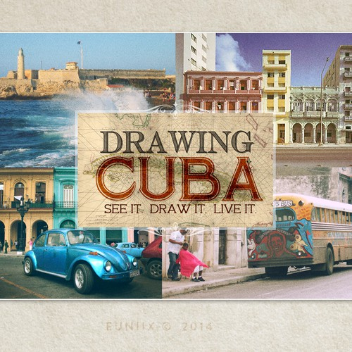 Cuba Cultural Travel Postcard