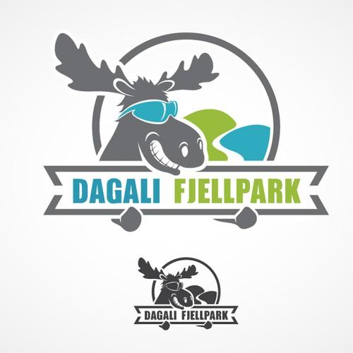 Logo design for mountain activity centre