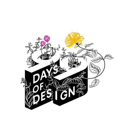 99 Days of Design Illustration
