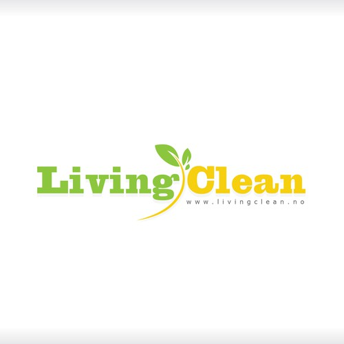 Help Living Clean with a new logo and business card