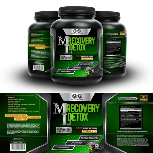 ML Recovery Detox Label