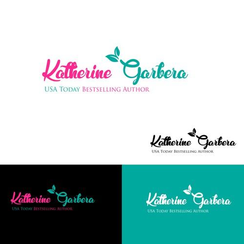 Create a winning logo for bestselling author Katherine Garbera.