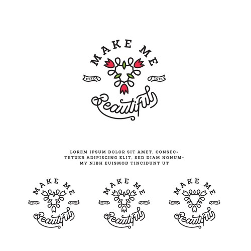 Logo for a women beauty care line