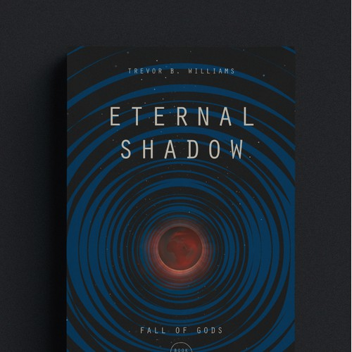 Eternal Shadow, adult hard science fiction novel.