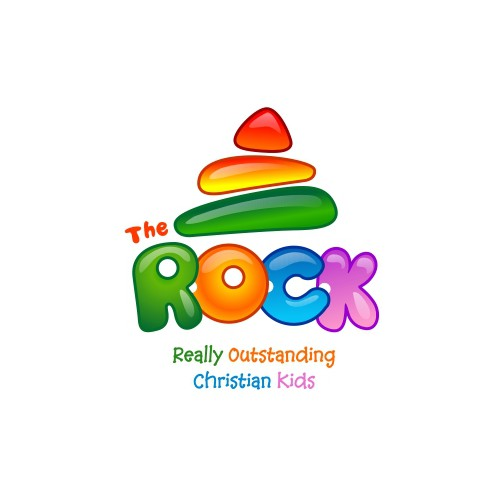 Cartoon logo for church