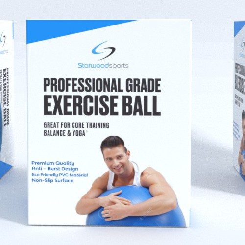 sports & fitness product packaging