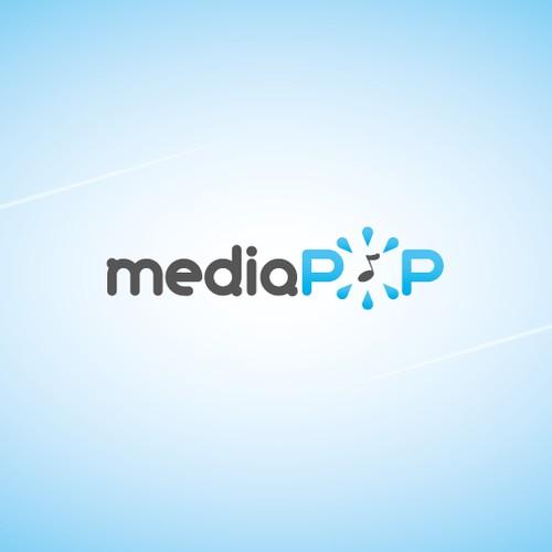 MediaPop needs a...Popier...logo :)