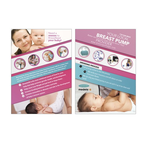 Flyer: Breast Pump Provider