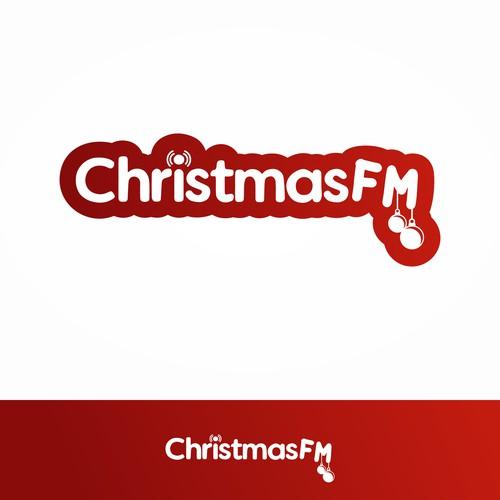 Logo for radio oficial Christmas songs