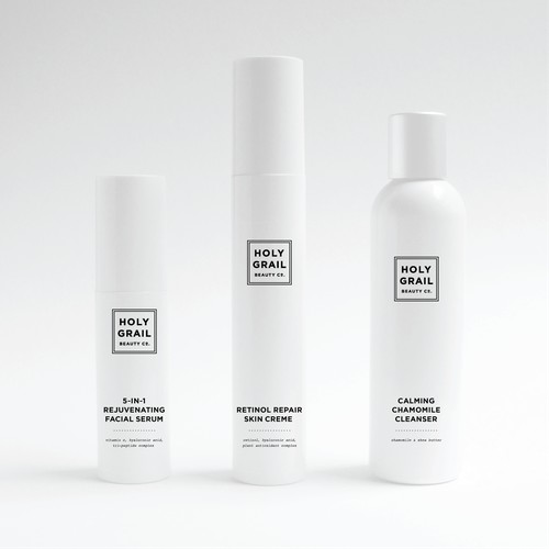 Packaging Design for a Skin Care Brand