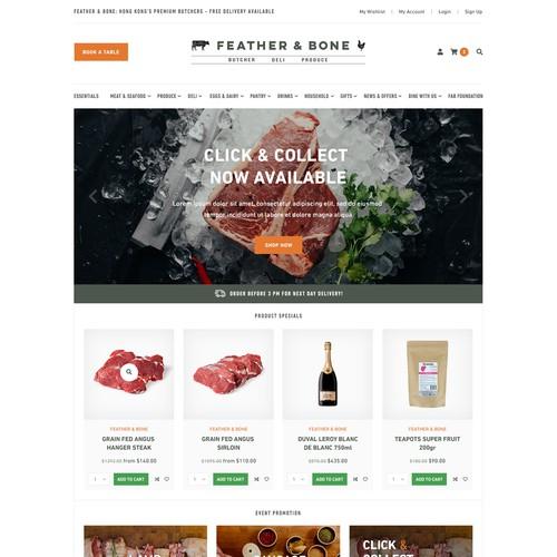 Feather & Bone website