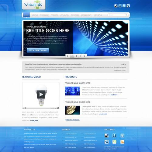 Website design for VisiLink