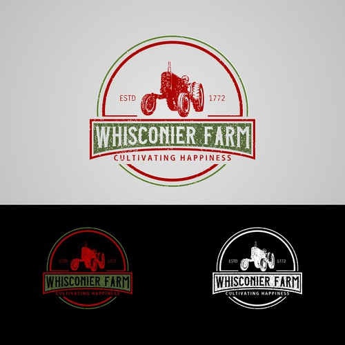 First logo for a 200 year old farm