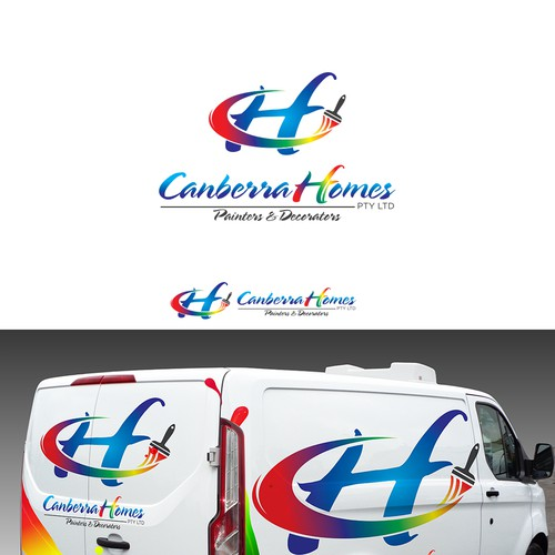 Canberra Homes Invites you - LOGO - Painters & Decorators