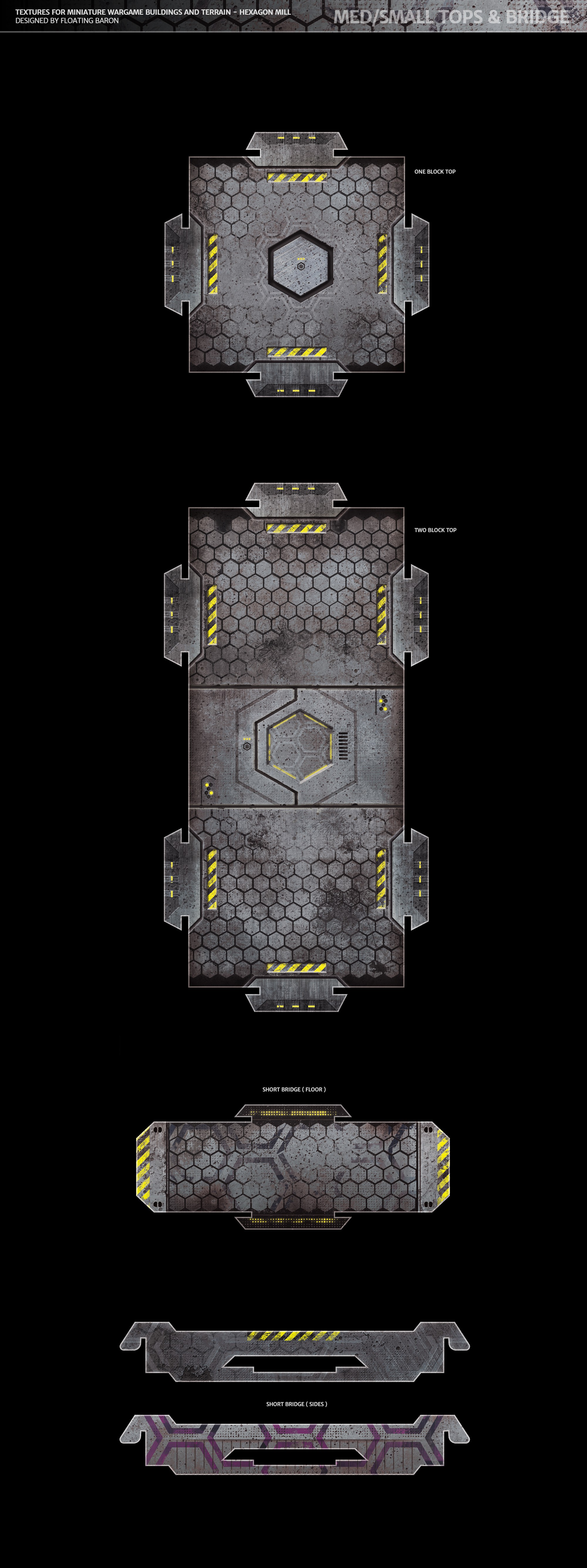 Create Textures for Miniature Wargame Buildings and Terrain