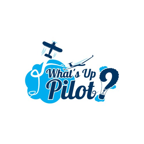 What's Up Pilot logo