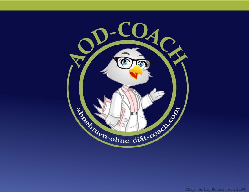 Create the next illustration for Abnehmen-ohne-Diät-Coach.com