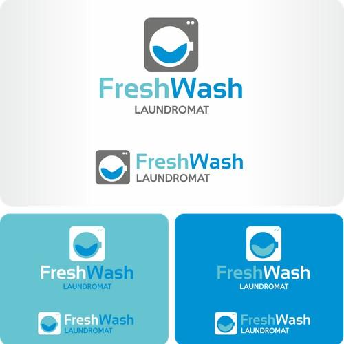 Logotipo FreshWash Laundry