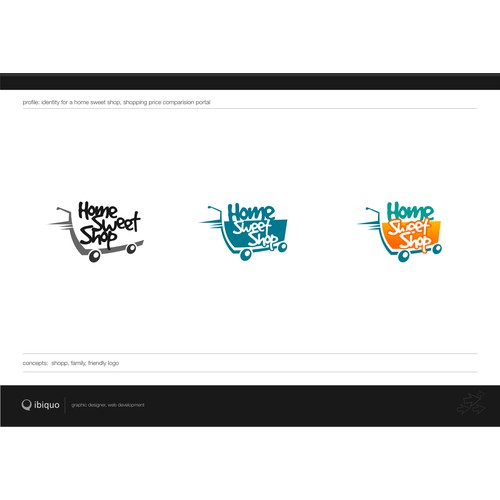 Home Sweet Shop - Logo design