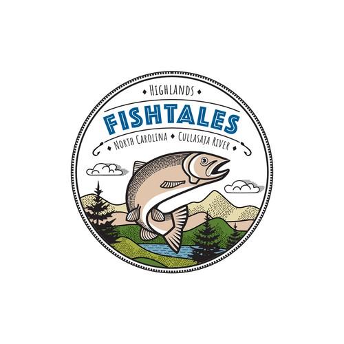Fishtales logo for vacation home
