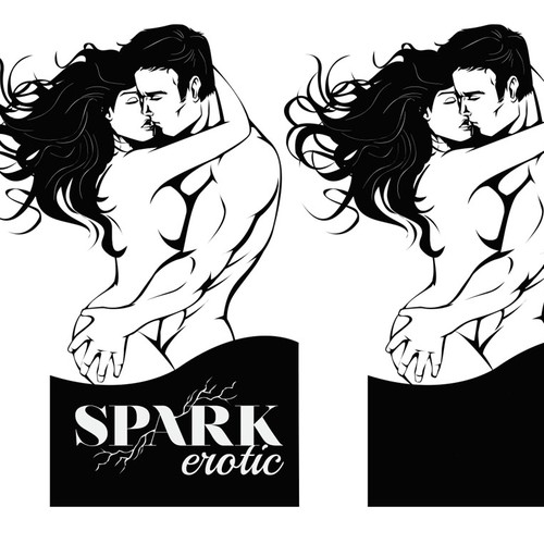 Create an illustration for Spark Erotic based on strong example and detail